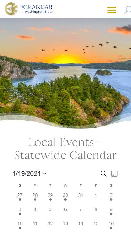 Eckankar in Washington State - mobile screenshot - events